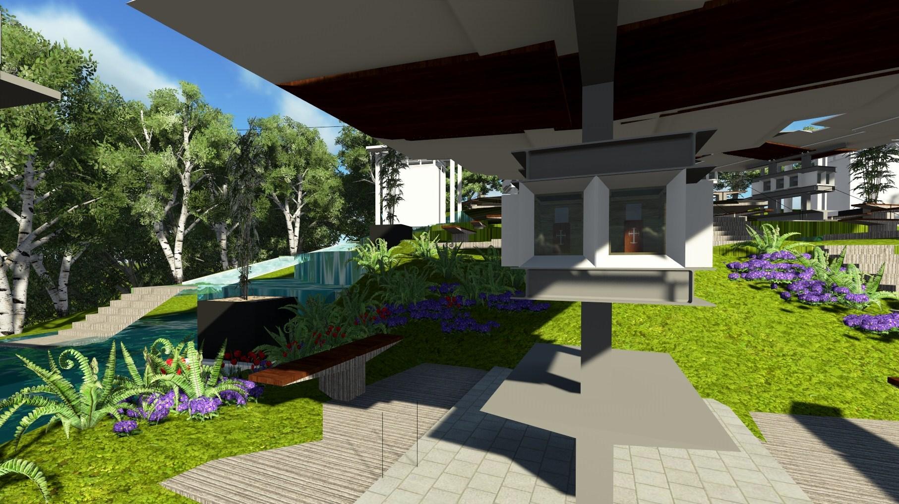 San Jose Tarlac Monastery Map%0A Projects Number                and     Monasterio de Tarlac Memorial  Gardens  u     Javier Design Studio  u     Manila  JDSM